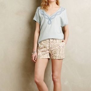 Anthropologie Holding Horses Tencel blue rope